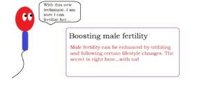 Boosting male fertility | male infertility treatment