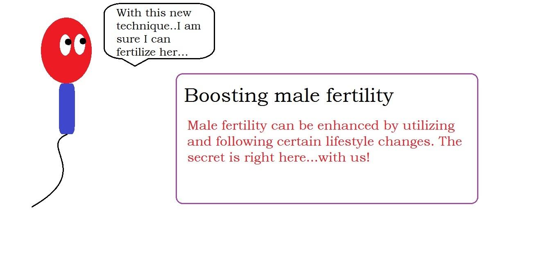Boosting male fertility   male infertility treatment