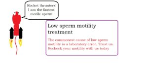 Low sperm motility treatment | male infertility treatment