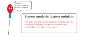 Semen analysis expert opinion male infertility treatment