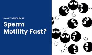 how to increase sperm motility fast