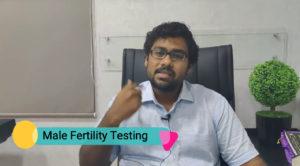 Male fertility testing